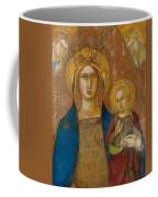 Madonna And Child With Two Angels Coffee Mug