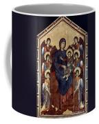 Madonna & Child In Majesty Coffee Mug by Granger