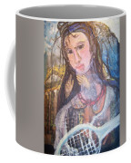 Madonna Of The Racket Coffee Mug