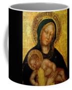Madonna With Child Gentile Da Fabriano 1405 Coffee Mug