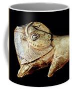 Magdalenian Carved Bison  Coffee Mug