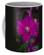 Magenta Clematis Coffee Mug
