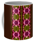 Magenta Crystal Pattern Coffee Mug