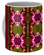 Magenta Crystals Pattern 2 Coffee Mug