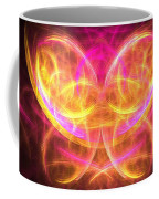 Magenta Moth Coffee Mug