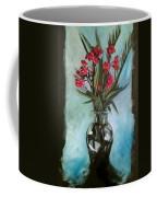 Magenta Oleander Coffee Mug