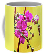 Magenta Orchid 3 Coffee Mug