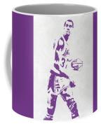 Magic Johnson Los Angeles Lakers Pixel Art Coffee Mug