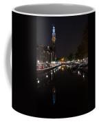 Magical Amsterdam Night - Blue Crown Skyline Coffee Mug