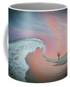 Magical Beach Sunset Coffee Mug by Beth Sawickie