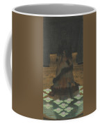 Magical Holy Mountain Within A Lotus-filled Sea Coffee Mug