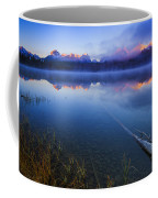 Magical Sunrise Along Sawtooth Mountain Range Stanley Idaho Coffee Mug