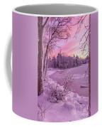 Magical Sunset After Snow Storm 1 Coffee Mug