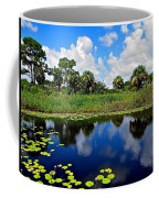 Magical Water Lily Pond 2 Coffee Mug
