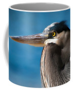 Magnificent Blue Heron Coffee Mug