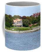 Magnificent Homes Along Cliff Walk Coffee Mug