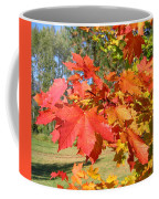 Magnificent Maple Leaves Coffee Mug