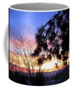 Magnificent Winter Sky Coffee Mug