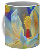 Magnolia Abstract Coffee Mug