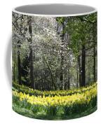 Magnolia And Daffodils Coffee Mug