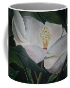 Magnolia Flower Oil Painting Coffee Mug