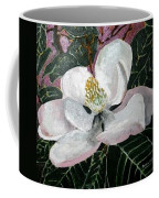 Magnolia Flower Painting Coffee Mug