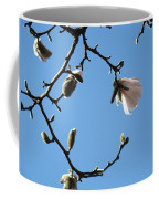 Magnolia Flowers Budding Art Prints Spring Floral Baslee Troutman Coffee Mug
