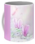 Magnolia Flowers Watercolor Coffee Mug