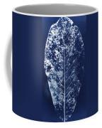 Magnolia Leaf Skeleton Coffee Mug