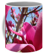 Magnolia Tree Pink Magnoli Flowers Artwork Spring Coffee Mug