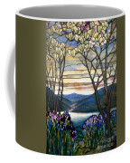 Magnolias And Irises Coffee Mug