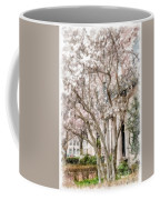 Magnolias In Back Bay Coffee Mug