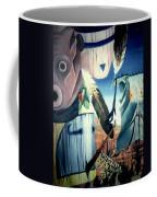 Magpie Mocks Kachinas Clowns And Fools Coffee Mug