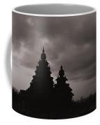 Mahabalipuram Silhouette  Coffee Mug