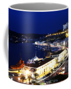Mahon Harbour At Night Coffee Mug