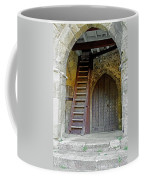 Main Entrance To St Mary's Church At Brading Coffee Mug