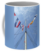 Main Mast Of Ss Great Britain At Bristol England Coffee Mug