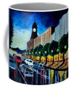 Main Street Clock Tower Coffee Mug
