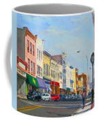 Main Street Nayck  Ny  Coffee Mug by Ylli Haruni