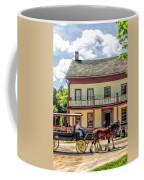 Main Street Of A Bygone Era At Old World Wisconsin Coffee Mug