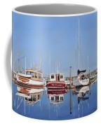 Maine Marina Evening Coffee Mug