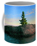 Maine Stone Island Sunrise Coffee Mug