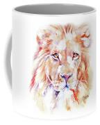 Majestic African Lion Coffee Mug