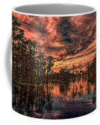 Majestic Cypress Paradise Sunset Coffee Mug