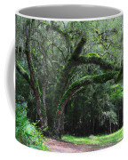 Majestic Fern Covered Oak Coffee Mug