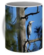 Majestic Great Blue Heron 1 Coffee Mug