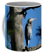 Majestic Great Blue Heron Coffee Mug