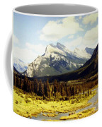 Majestic Mount Rundle Coffee Mug