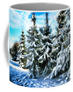 Majestic Winter In New England  Coffee Mug