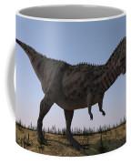 Majungasaurus In A Barren Environment Coffee Mug